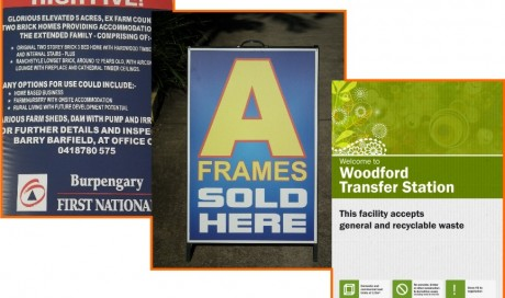Printed Composite Aluminium Signs