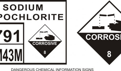 Dangerous Chemical Information Signs