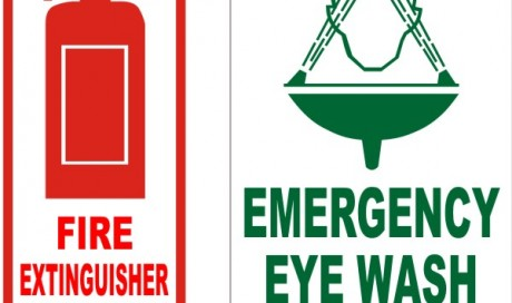 Emergency Equipment Signage