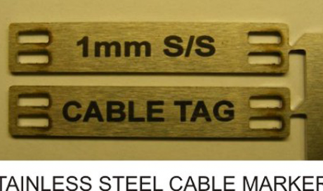 Stainless Steel Cable Markers